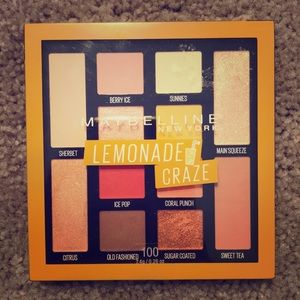 NWOT Maybelline Lemonade Craze Eyeshadow Palette